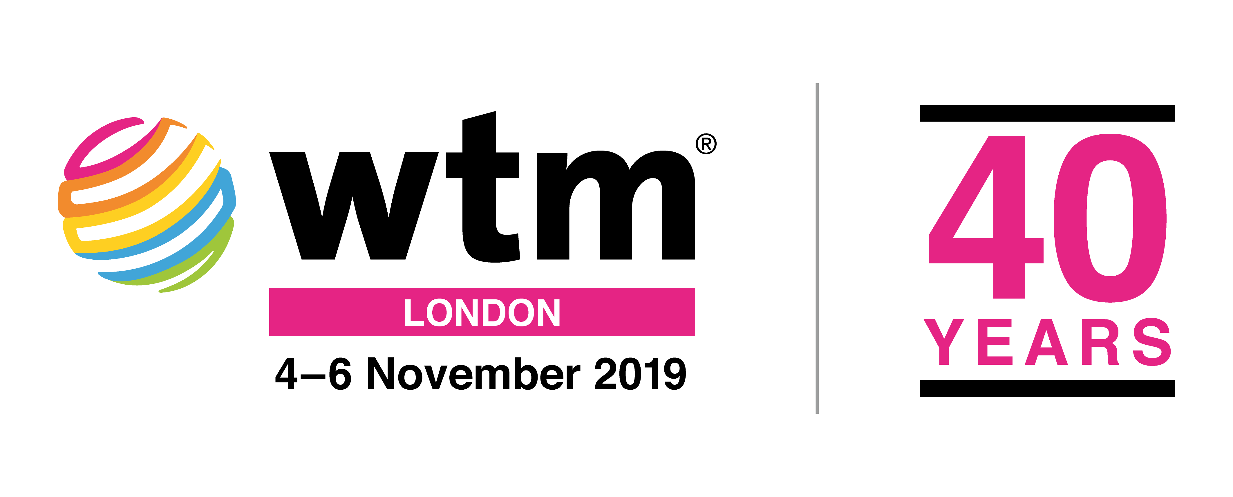 wtm_london_19_logo_40years